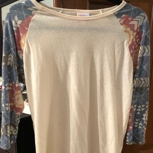 LulaRoe Randy shirt.  Size small.
